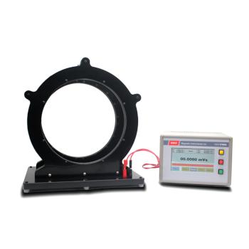 Helmholtz coil and fluxmeter for magnet measurement