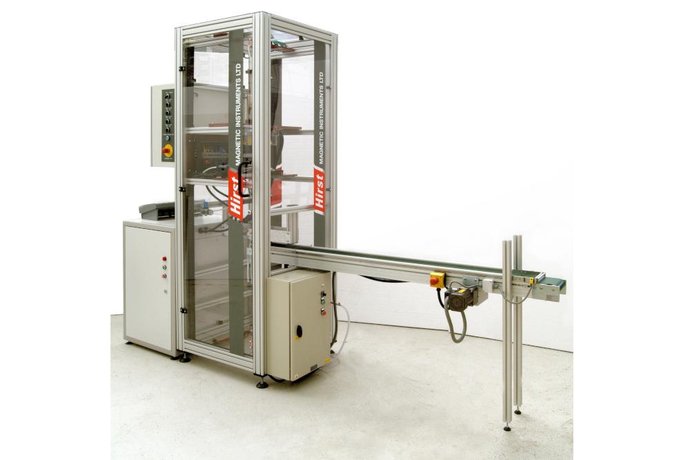 Production line magnetisation